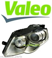 OEM VALEO GENUINE XENON VW PASSAT B6 HEADLAMP HEADLIGHT D1S H7 2006-2010 LEFT