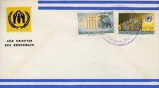 11339) NICARAGUA FDC 30.1.1961 Refugee 2v