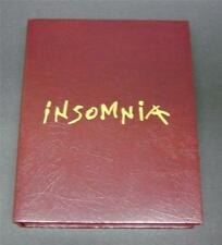 INSOMNIA by Stephen King (1994, HB) Limit 1st Ed; Numbered; Signed; In tray case