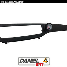 03 07 Mitsubishi Evo Lancer - Single Gauge Pod 52mm (OEM) Dash Trim