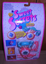 #8772 NRFC Vintage Galoob Sweet Secrets Crystal Bright Charm Doll