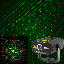 RG laser Projector Whirlwind 2patterns dance Disco bar Party Xmas DJ Stage Light