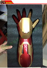 1/1 Iron Man Real Left Arm Hand Roan Toys Can Wear Auto Led Light Up Armor Model