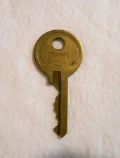 Vintage Brass Ornate Design HURD Padlock Lock Key Keys Number Y1214 y1214