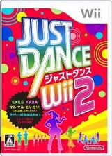 Used Wii Just Dance Wii 2 Japan Import