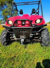 New Yamaha Rhino 660 04-07 Deluxe Front Bumper with Free Winch Mount