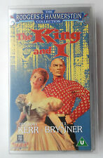 THE KING AND I VIDEO VHS DEBORAH KERR YUL BRYNNER 1990 127 MINS