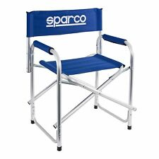 Sparco Folding Light Weight Alloy Paddock/Camping/Outdoor Chair / Seat