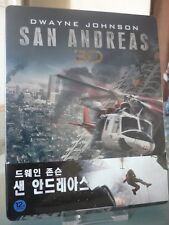 Blu ray steelbook San Andreas Korea Novamedia 1/4 slip limited to 200 New Neuf
