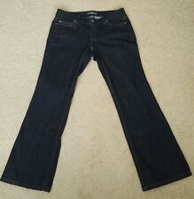 ANN TAYLOR Women´s Dark Wash Boot Cut Low Rise Jeans, Size 6