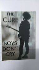 The Cure boys don't cry vintage music postcard POST CARD