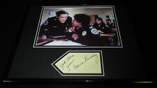 Marion Ramsey Signed Framed 11x14 Photo Display JSA Police Academy