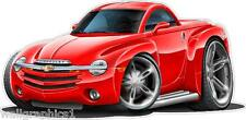2004 Chevy SSR Hardtop or Convertible Wall Decal Game Room Graphics Garage Cling