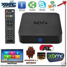 BOX TV MXQ DTT SMART ANDROID INTERNET TV FULLHD WIFI 4XCPU 4XGPU MEDIA PLAYER