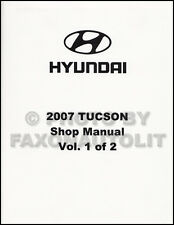 2007 Hyundai Tucson Shop Manual Volume 1 Engine Emissions Fuel Repair Service