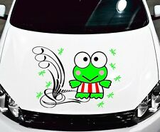 HELLO KITTY KEROPPI TRIBAL DECAL,VINYL,GRAPHIC,HOOD,SIDE OF CAR