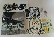 Royal Elastics STREET WISE Catalogue BOOK & Graffiti STICKERS Art D-Face Obey