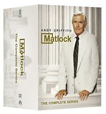 Matlock: Andy Griffith Complete Series Seasons 1 2 3 4 5 6 7 8 9 DVD Box Set NEW