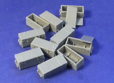 Resicast 1/35 WWI 18pdr Wooden Ammo Boxes (Resin)