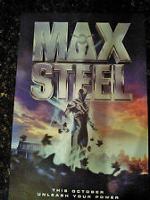 MAX STEEL 11x17 AUTHENTIC Promo Movie Poster 2016 MINT-HIGHLY COLLECTIBLE~ NEW