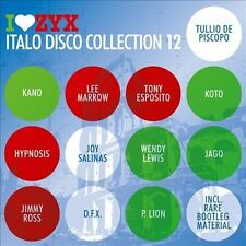 I Love ZYX: Italo Disco Collection 12 [Box] by Various Artists (CD, Nov-2011,...