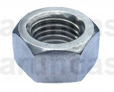 3/8 UNC Stainless Full Nuts - 3/8-16 UNC Stainless Hex Full Nuts (9/16 AF) x10