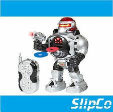 RC Robot parlando SHOOTING WALKING DANCING diapositiva PET Telecomando Giocattolo Regalo