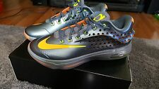 Men's Nike KD VII Elite Basketball Shoes Size 10.5 [Graphite/Volt/Citrus]