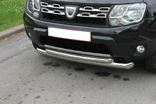 PARE BUFFLE INOX DACIA DUSTER-BULL BAR DOUBLE FRONT DUSTER STAINLESS STEEL