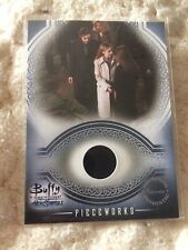 buffy the vampire slayer Xander Signed Pieceworks Pw2 Card