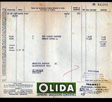 """VANVES (92) USINE de BOUCHERIE / JAMBON SAUCISSON CONSERVES """"OLIDA"""" en 1963"""