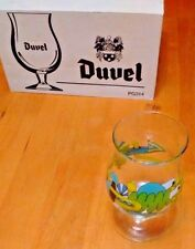 New Duvel Belgian Beer Glass Artist Collection Mike Perry