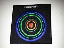 PUNK ROCK METAL MUSIC SEW ON / IRON ON PATCH:- NEW ORDER