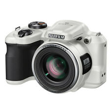 "Fuji FinePix S8600 16 Megapixel Bridge Digital Camera 36x Zoom 3.0"" LCD White"