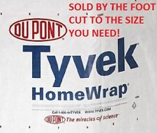 9' Tyvek Homewrap Groundcloth Hiking Camping Tent Footprint Tarp w/ Anchor Loops