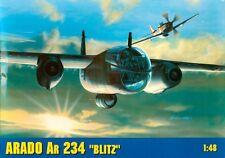 ARADO Ar 234 B2/N BLITZ / NACHTIGALL (3x LUFTWAFFE MARKIERUNG) 1/48 GOMIX TOP!