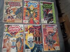 Ghost Rider - 10 Comics Title Varies Each Featuring Ghost Rider  Dates 1973-1993