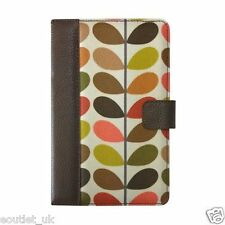 "Orla Kiely Book Case For Kindle Fire and other 7"" ereaders HUDL - Multi Stem NEW"