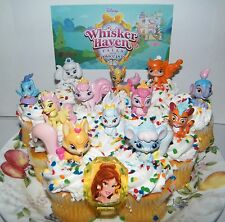 Disney Whisker Haven Tales With the Palace Pets Cake Toppers 14 Set Deluxe items