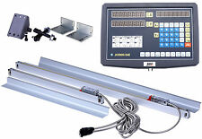 2 Axis Digital Readout and TTL Linear Scale DRO kits For MILL LATHE BRIDGEPORT
