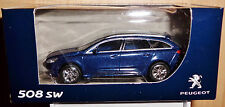 Norev 3 Inches 1:64 Peugeot 508 SW blue