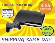 Sony PS3 Slim 500Gb Ofw 3.55  with mod menus and extras NEW!