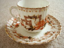 Antique S.Radford Longton England  porcelain cup and saucer,c.1890