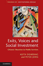 Exits, Voices and Social Investment, Dowding, Keith