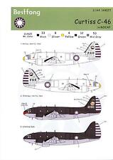 Bestfong Decals 1/144 CURTISS C-46 COMMANDO Republic of China Air Force