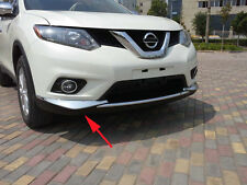 Triple Chrome Front Corner Protect Cover Trim for Nissan X-Trail Rogue 2014-2016