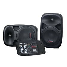 Nady PAS-300BT Portable Bluetooth PA System Speakers