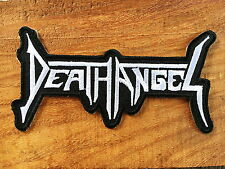 Death Angel Sew Iron On Patch Embroidered Rock Band Heavy Thrash Metal Music