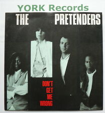 "PRETENDERS - Don't Get Me Wrong - Excellent Condition 7"" Single Real YZ 85"