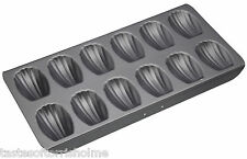 Master Class Professional Non Stick 12 Hole French Madeleine Cake Tin Tray